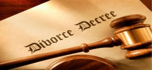Decree of divorce