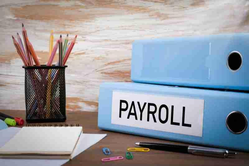 Payroll binder